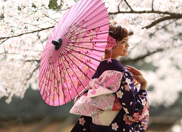 成人|桜|ロケ