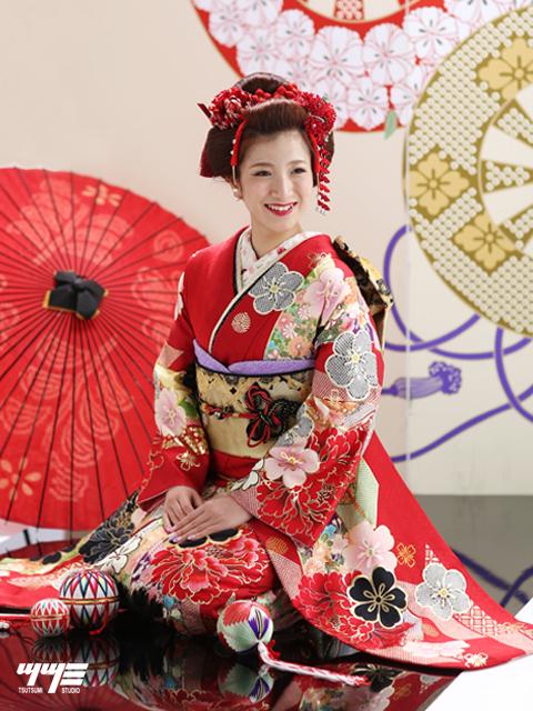 成人式|熊本|日本髪