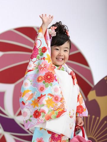 熊本 七五三 髪置 着物 レンタル 写真 女