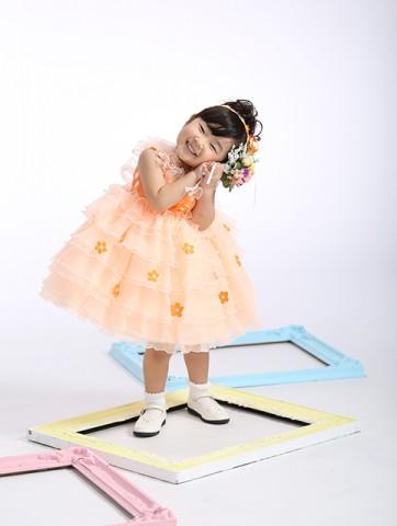 熊本 七五三 髪置 ドレス レンタル 写真 女