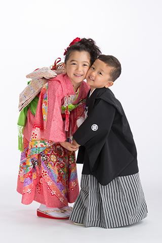 熊本 堤写真館 下通 七五三 753 着物 レンタル 女の子 男の子