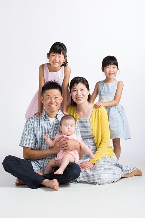 熊本,下通,堤写真館,家族写真,子供,パパ,ママ,記念日,誕生日