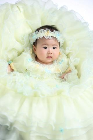 熊本 堤写真館 写真 赤ちゃん 家族 記念 百日