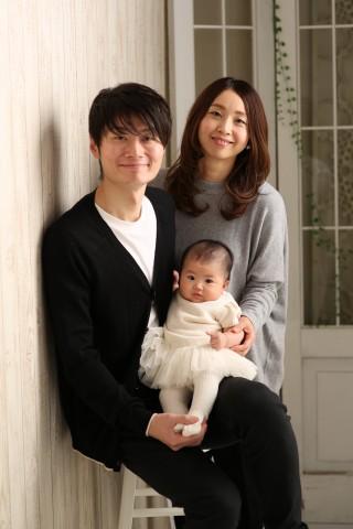 熊本 堤写真館 写真 赤ちゃん 百日 家族 記念