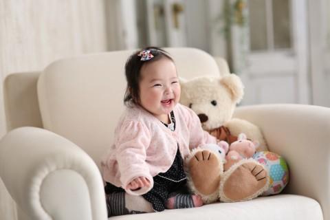 熊本 写真 堤写真館 赤ちゃん ハーフバースデー 記念 祝い
