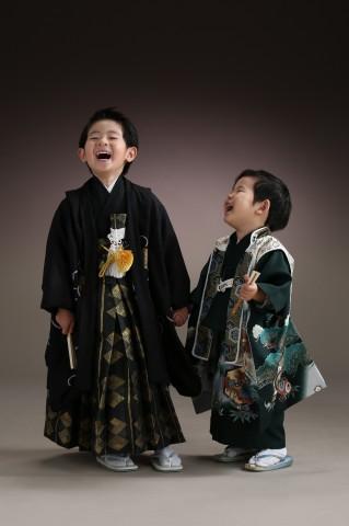 熊本 写真 堤写真館 七五三 男 着物 レンタル 記念